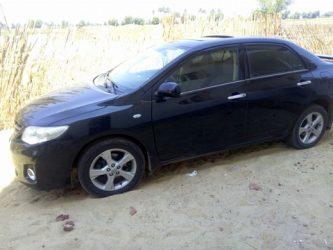 تيوتا كورولا 2011 حادثه للبيع